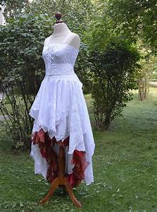 recycled upcycled wedding dress fairy tattered romantic by With recycled wedding dresses