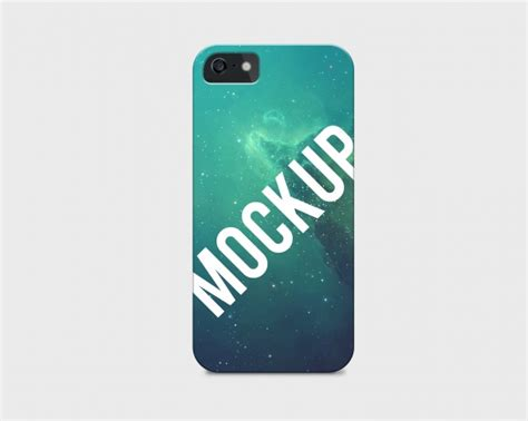 free mobile cover mobile phone case mock up psd file free download