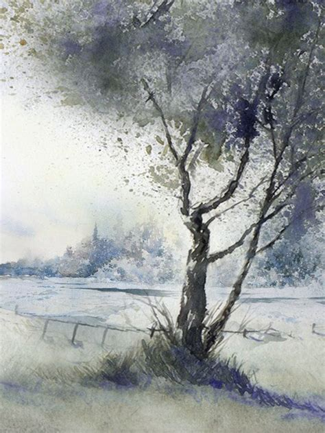 Winter Painting Solitude