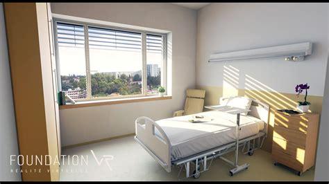 chambre hopital psychiatrique chambre d 39 hôpital en réalité virtuelle