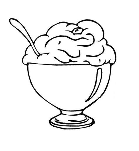 desenhos desenho infantil  colorir de sorvete
