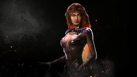 Harley Quinn Arkham Knight Wallpaper Injustice 2 Starfire Gameplay Trailer Arkhamverse Com