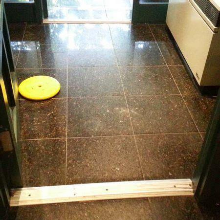 4 Steps of Marble Floor Restoration. Grinding, Honing