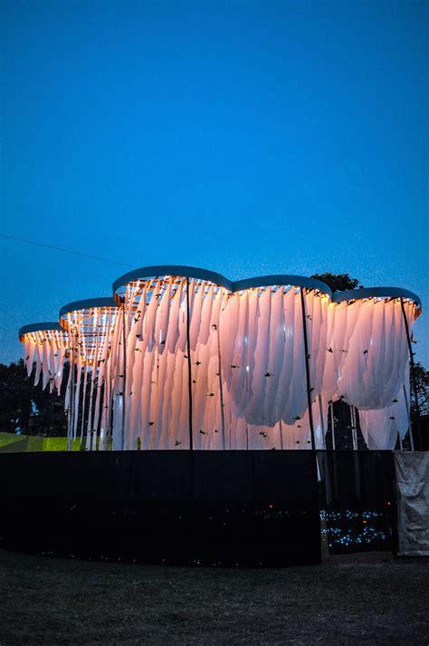 A Pavilion Of Canopies By Abin Design Studio Design