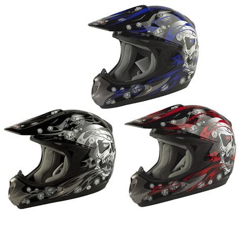 motocross crash helmets viper rs x44 skulls mx enduro off road dirt bike motocross