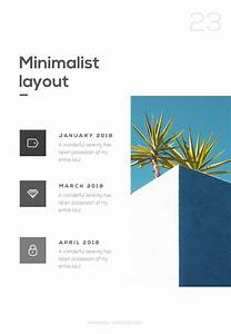 Native, Minimalist, Portrait, Version, Powerpoint, Template