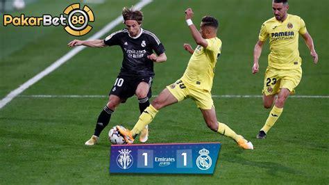 Real madrid di tahan imbang oleh Villarreal La Liga