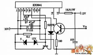 Composing Of Exb841 Drive Circuit Diagram