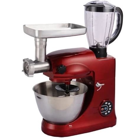 moulinex companion cuisine multifonction kitchen grand chef ultra rubis achat