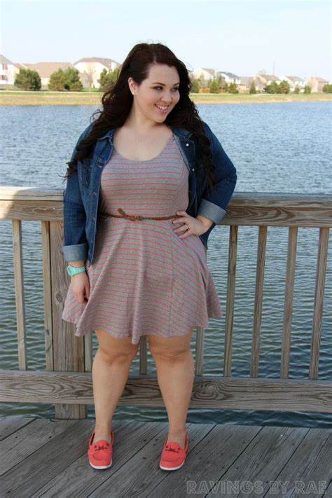 Easy Outfit With Bright Shoes Chubby Girl Fashion Plus