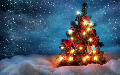 snowy christmas wallpaper  images
