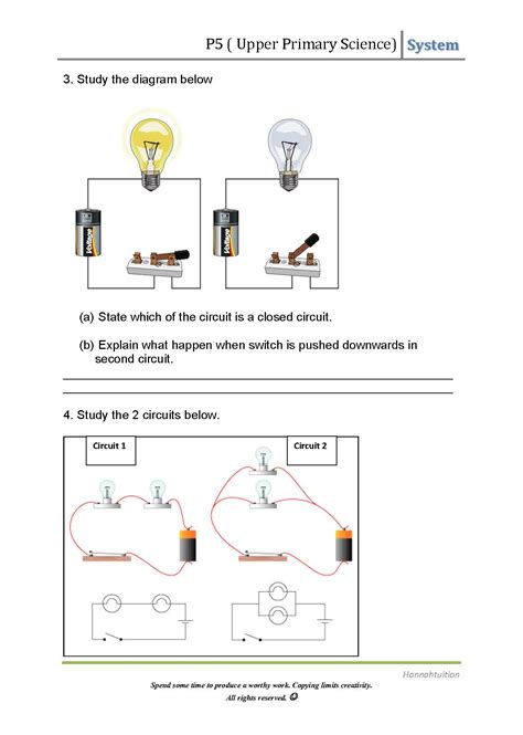 p science electric circuits