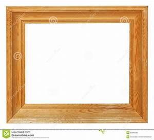 Cadre En Toile : cadre de tableau en bois simple avec la toile de coupe circuit photo stock image du cadre ~ Teatrodelosmanantiales.com Idées de Décoration