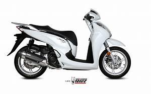 Scarico Honda Sh 300 Mivv Urban Inox C Ho 0007 K