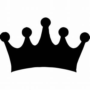 Simple Crown Silhouette Wall Sticker Decorative Wall Decal Art