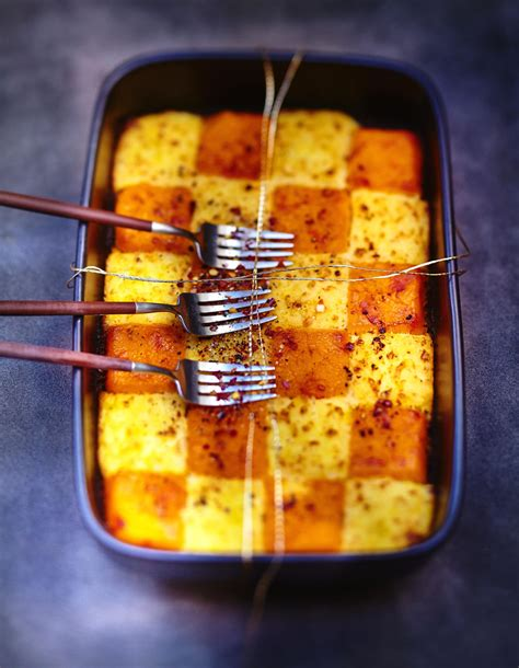 recette de cuisine a base de pomme de terre purées de pommes de terre et potimarron au gingembre pour