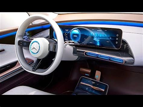 mercedes eq interior  detail   mercedes electric