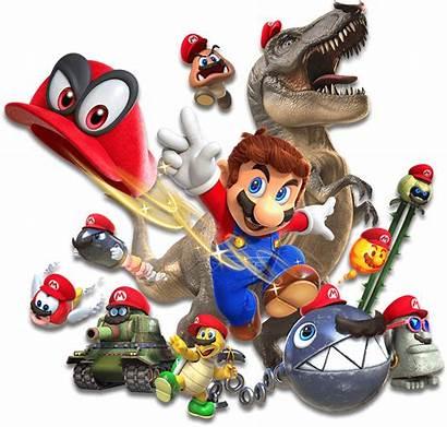 Mario Odyssey Super Nintendo Cappy Capture Bowser