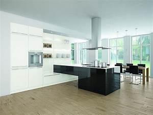 Küche Schwarz Weiß : proline schwarz wei glanzlack ~ Sanjose-hotels-ca.com Haus und Dekorationen