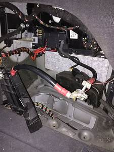 Wire Harness And Plug Under Battery Compartment
