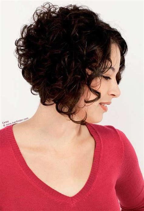short curly hair short hairstyles haircuts