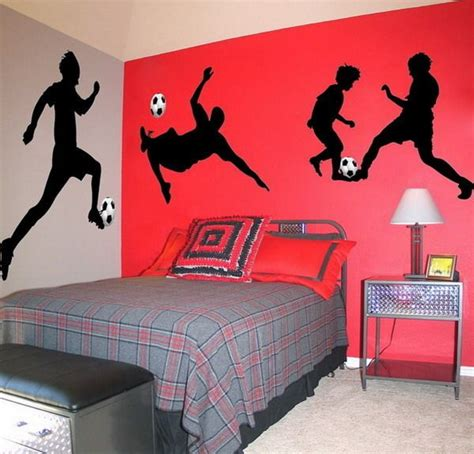soccer bedroom ideas 1000 ideas about soccer bedroom on pinterest boys 13359 | 61aebe8f3b61dfe3850d59e680610acd
