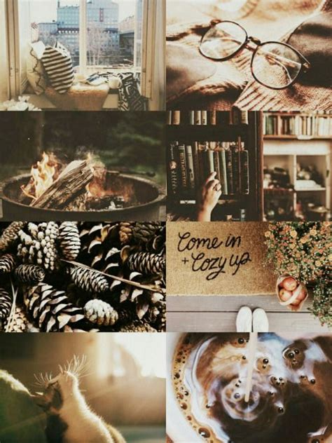 cozy autumn aesthetic aesthetic collages