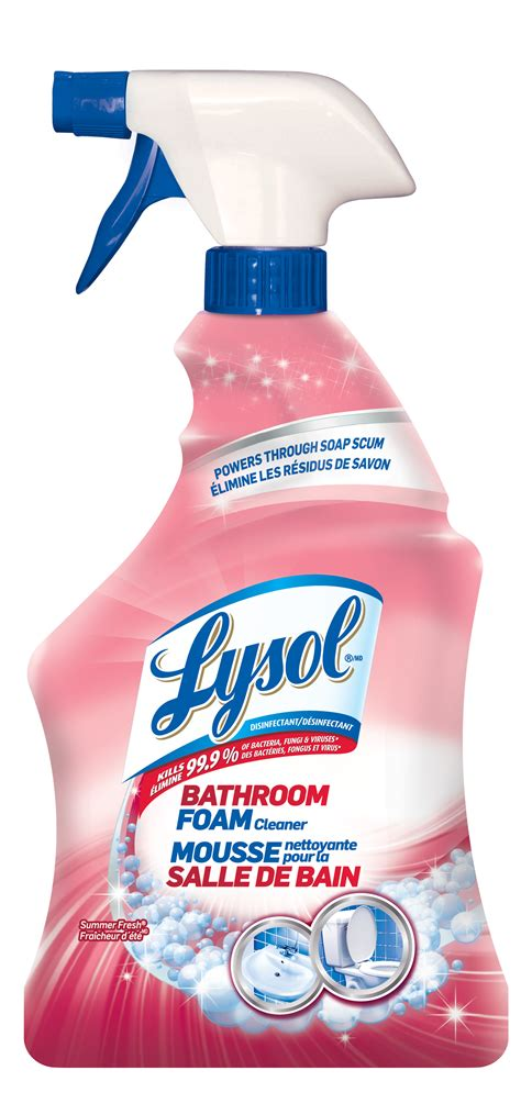 lysol power foam bathroom cleaner msds lysol bathroom cleaner 4 in 1 my web value