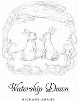 Watership Down Coloring Sketch Printablecolouringpages Larger Credit sketch template