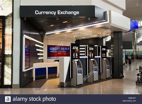 heathrow bureau de change automatic teller machine atm machines at travelex bureau