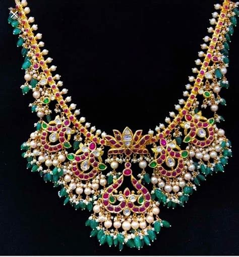 Gutta Pusalu Necklace Designs For Making You The Showstopper