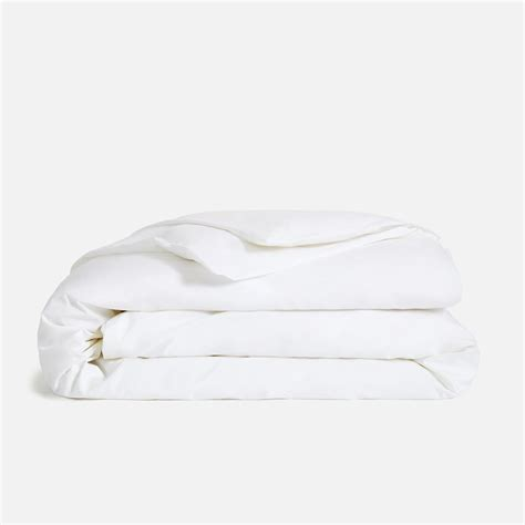 White Blanket Cover by Cotton Duvet Covers Brooklinen