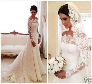 black plain belt half white ivory lace shoulder sleeve wedding