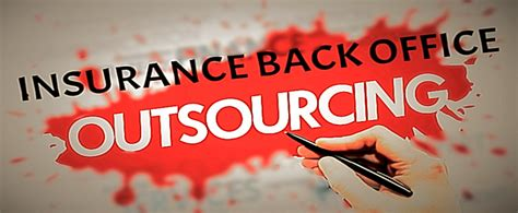 Outsourcing can be termed as hiring a third party firm to perform specific business operations of an organization. Insurance Back Office Outsourcing - A beneficial option for business