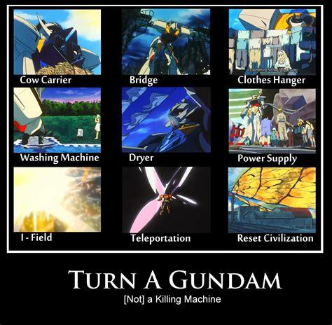 Gundam Memes - gundam meme turn a gundam not a killing machine fanmade motivational poster gundam kits