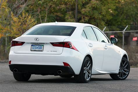 lexus car is 250 2014 lexus is 250 awd f sport quick spin photo gallery