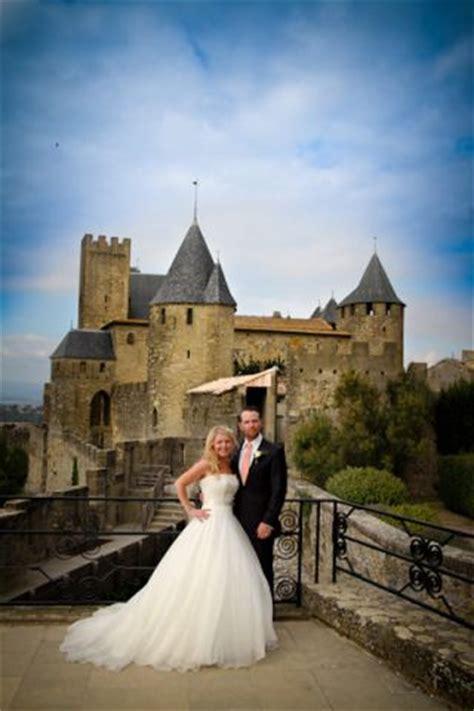 real life wedding carcassonne citadel