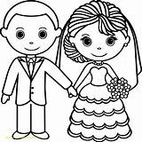 Coloring Wedding Couple Pages Printable Getdrawings Print Getcolorings Pag sketch template