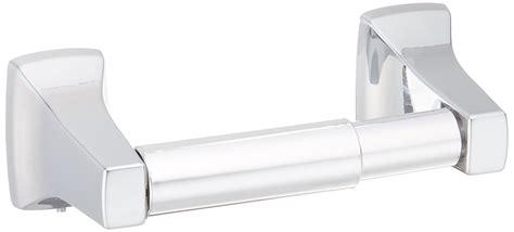 Spring-loaded Toilet Paper Holder Mirror-like Chrome