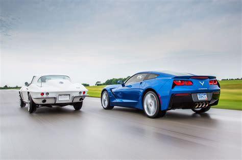 1966 and 2014 Corvette - www.automobilemag.com | 2014 corvette, Chevy corvette, Corvette