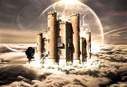 Nuvens Castelo Nas