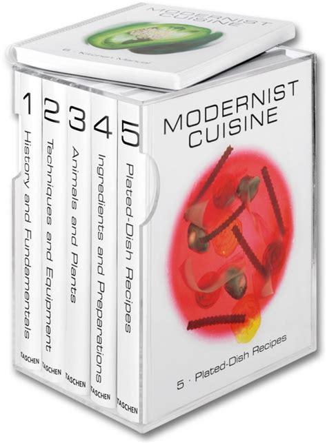 taschen cuisine modernist cuisine the and science of cooking taschen