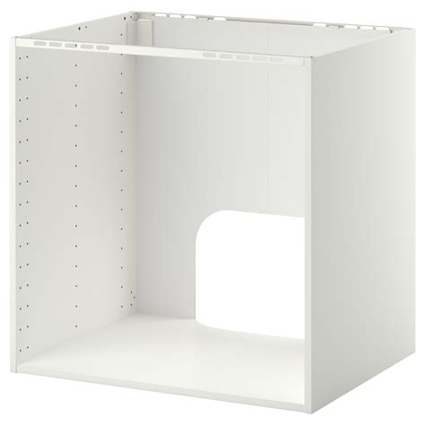 meuble sous evier cuisine ikea metod base cabinet for built in oven sink white 80x60x80