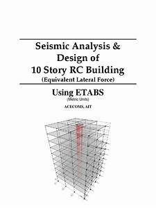 Seismic Analysis  U0026 Design Of 10 Story Rc Building