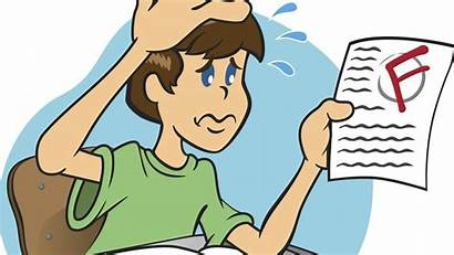 Failing Class Grades Bad Dealing Failed Results