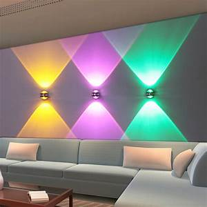 Colorful Led Light Spotlights Downlights Wall Sconce