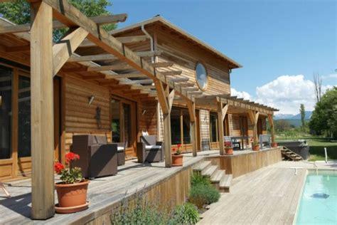 maison ossature bois piscine 2 hectares annonce maison bois