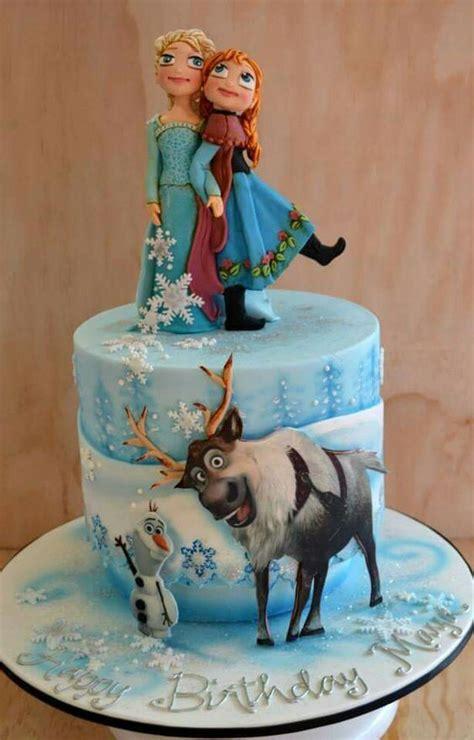 pasteles  fiestas cumpleanos de frozen