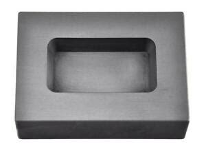 oz troy ounce silver rect graphite ingot mold casting melting refining metal ebay