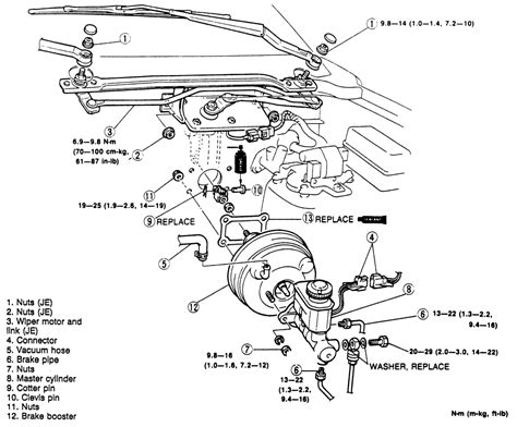 Wiring Diagram For Brake Booster by Repair Guides Brake Operating System Power Booster
